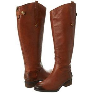 Brown Sam Edelman Penny 2 Wide Calf Riding Boots 9